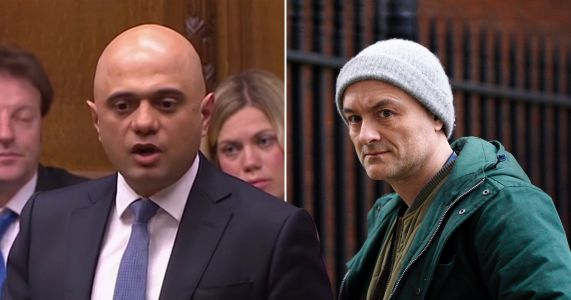 Sajid Javid fires barrage of criticism at Johnson in Commons speech