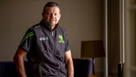 Cricket Ireland coach Graham Ford: 'Catching a flight was the dumbest but bravest move I've ever made'