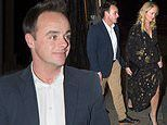 Ant McPartlin and girlfriend Anne-Marie Corbett enjoy a double date night with friends in Mayfair