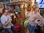 Wife builds her husband his very own pub in the back of their garden