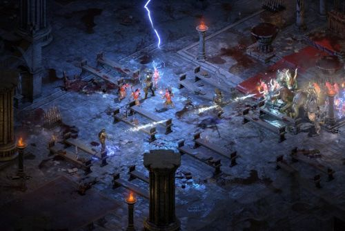 Amazingly, Diablo II: Resurrected will let you import your old save files