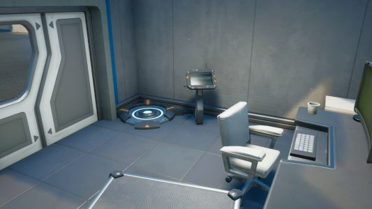 Where are the body scanners in Fortnite