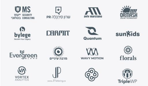 Can you guess which of these logos are for real clients?