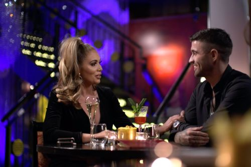 Celebs Go Dating's Amy Childs plays 'nice' with Scots love interest