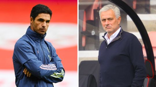 Arsenal boss Mikel Arteta praises Jose Mourinho's start at Tottenham ahead of north London derby clash