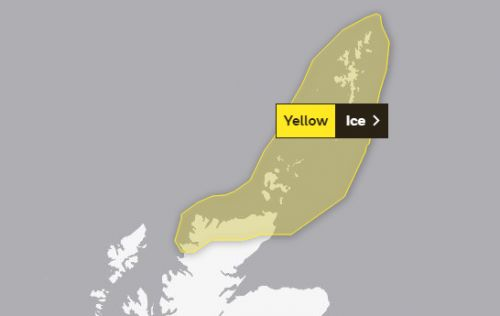 Warning for north motorists and residents as temperatures drop below freezing