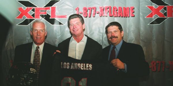 The rise and fall of XFL - Vince McMahon's wild, sexualized, exaggerated answer to football that lived and died in one season