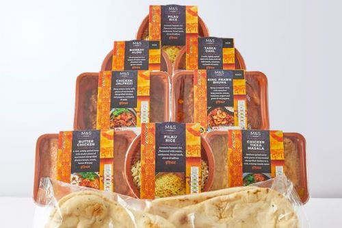 M&S launch Indian takeaway ready-meal food box that feeds four
