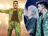 Adam Lambert and Queen perform at the Fire Fight Australia bushfire relief concert in Sydney