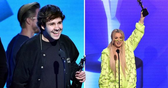 Tana Mongeau, David Dobrik and MrBeast lead big winners at Streamy Awards 2019 as Kim Petras and Normani perform