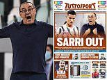 Italian newspapers call for Maurizio Sarri to be sacked after Juventus' Champions League exit