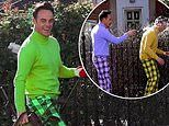 Ant McPartlin larks around with Declan Donnelly in golfing video