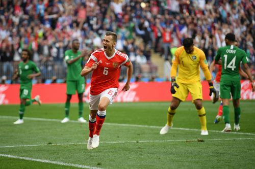 Pictures: Russia hit five in World Cup opener against Saudi Arabia