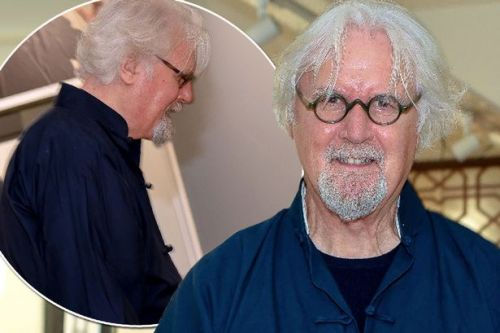 Billy Connolly seen for first time since Michael Parkinson's claims about his health