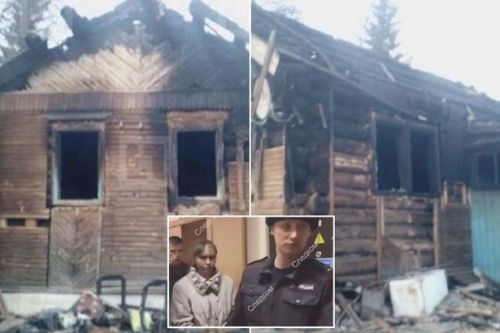 'Drunk' mum 'burns son and daughter alive at home after getting fed up with them'