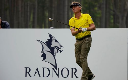 Bernhard Langer stuns fans at Senior Open by driving the ball 350 yards - at 63 years old