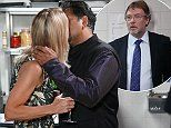 EastEnders SPOILER: Ian Beale walks in on his mum Kathy and Masood Ahmed sharing a VERY saucy smooch