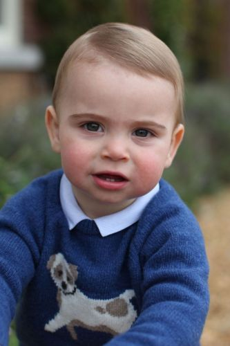 BREAKING: New photos are released to celebrate Prince Louis turning one-year-old