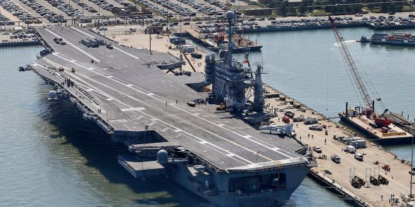 The US Navy says it's becoming 'nearly impossible' to maintain its ships with Congress holding more than $20 billion hostage