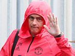 Jose Mourinho and Manchester United squad head to London for clash against Chelsea