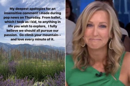 Lara Spencer apologises for mocking Prince George's interest in ballet on live TV