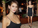 Kaia Gerber attends star-studded LOVE magazine's London Fashion Week event