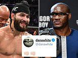 Jorge Masvidal CONFIRMED as late replacement to fight Kamaru Usman
