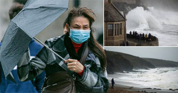Danger to life warning as Brits braced for six inches of rain in 36 hours