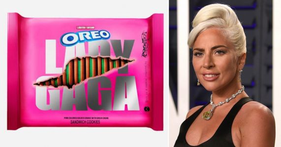 Lady Gaga has her own Chromatica Oreo cookies now, just so you know