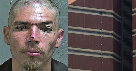 Murder suspect escapes 12-storey prison by tying bedsheets together