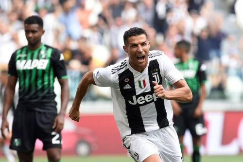 Cristiano Ronaldo finally scores first Juventus goal and fans spot something revealing in his celebration
