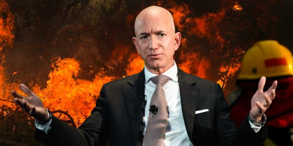 Twitter users have hopped on a viral hashtag to ask Jeff Bezos of Amazon to help save the Amazon