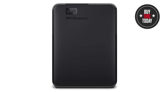 Buy this today: 50% off 2TB WD Elements external hard drive