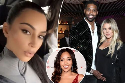 Kim Kardashian confirms sister Khloe is SINGLE after Tristan Thompson cheated with Jordyn Woods