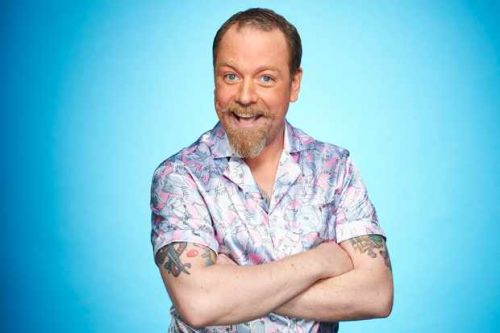 Meet Rufus Hound, Dancing on Ice 2021 contestant and comedian