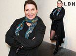 Sadie Frost, 54, attends adidas event after visiting son Rafferty Law on set