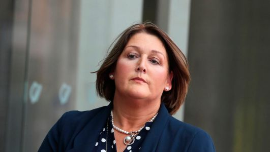 Thank you for sticking with this trial, says Adrian Donohoe's wife Caroline after Aaron Brady found guilty