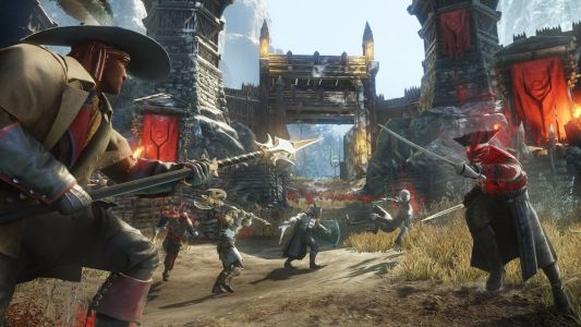 Amazon just released the first trailer for 'New World,' a massive multiplayer online game coming to PC in May 2020