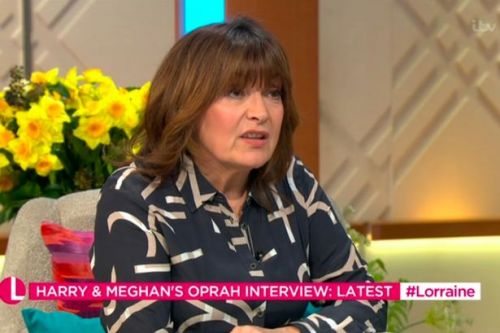 Lorraine Kelly confused about Meghan and Harry's decision to do Oprah interview