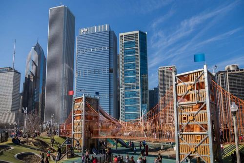Out and about in Chicago's Maggie Daley Park
