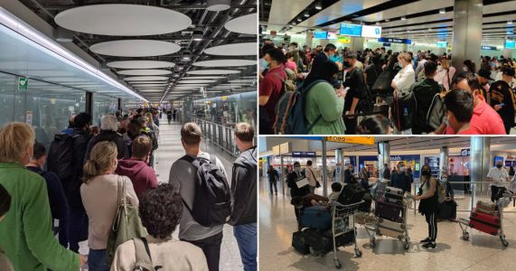 Heathrow queue chaos enters twelfth day amid confusion over Covid rules