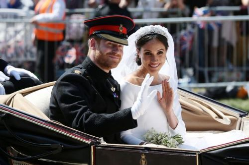 Meghan Markle claims royal wedding to Prince Harry brought £1billion into the UK