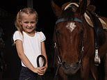 Tiny Queensland country town organises auction to raise money for girl, six, with cystic fibrosis