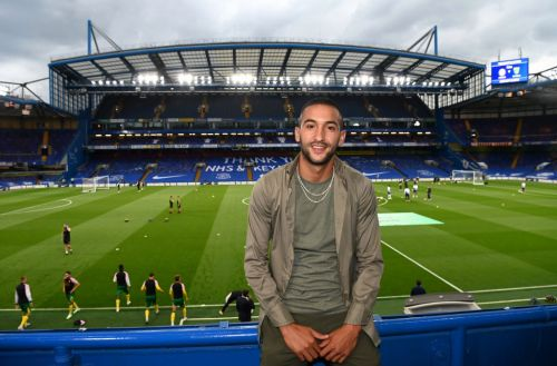 Hakim Ziyech pictured training with new Chelsea team-mates for first time