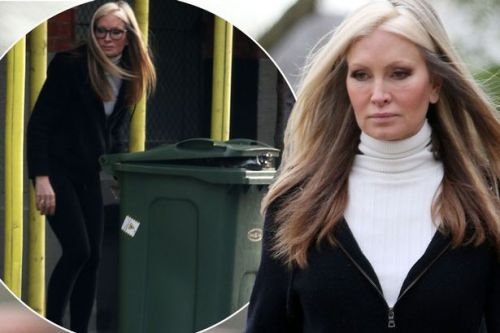 Dancing On Ice's Caprice Bourret sports swollen eye in latest drama to hit model
