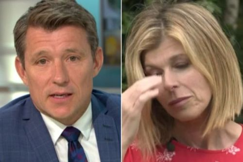 Ben Shephard fights back tears as Kate Garraway details husband's last words