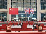 Beijing uses a blockbuster to recreate the handover ceremony of Hong Kong in 1997