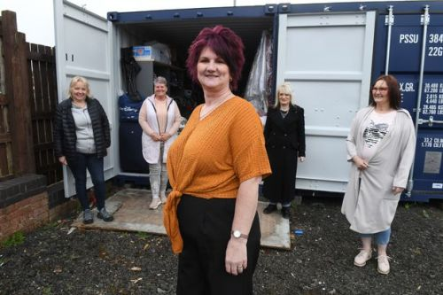 Charity begins at home for container team helping families put food on the table