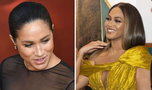 Meghan Markle 'upstaged' by Beyonce as singer 'breaks protocol' to greet Duchess of Sussex