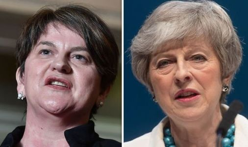 Theresa May to put concessions to DUP in DESPERATE bid to win support for her deal